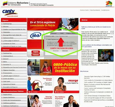 51 CANTV , Factura , Venezuela No comments