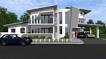 Design Of Two Storey Residential House - Home And Style