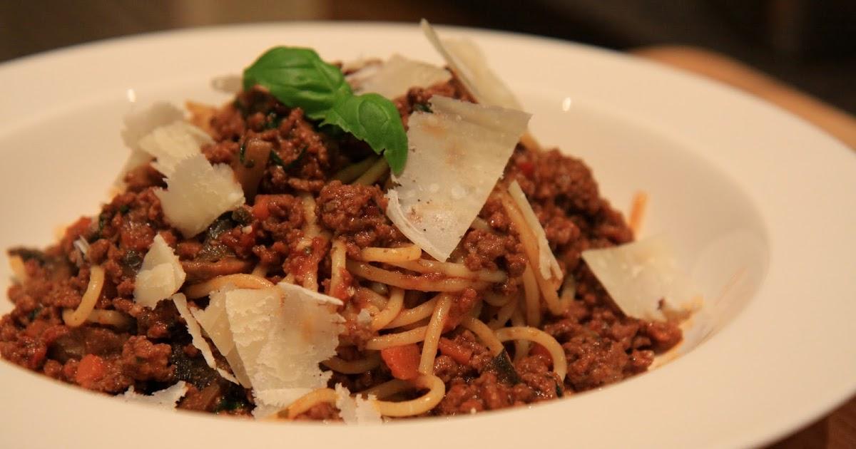Slimming World Delights: Spaghetti Bolognese