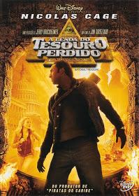 Filme A Lenda do Tesouro Perdido Dublado AVI DVDRip