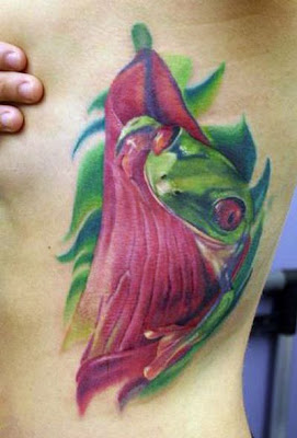 frog tattoo design