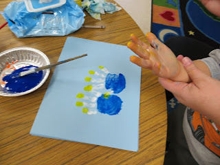 menorah handprint social studies activity