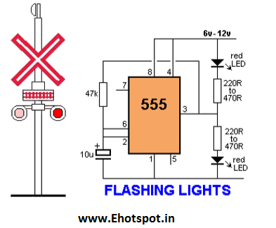 Timer light flashing wiring diagram diy enthusiasts wiring diagrams timer light flashing wiring diagram images gallery rail road crossing flashing led using 555 ic electronics hotspot rh myelectronicshub blogspot com live asfbconference2016 Gallery