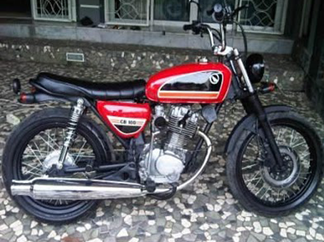 Honda CB100 Modification