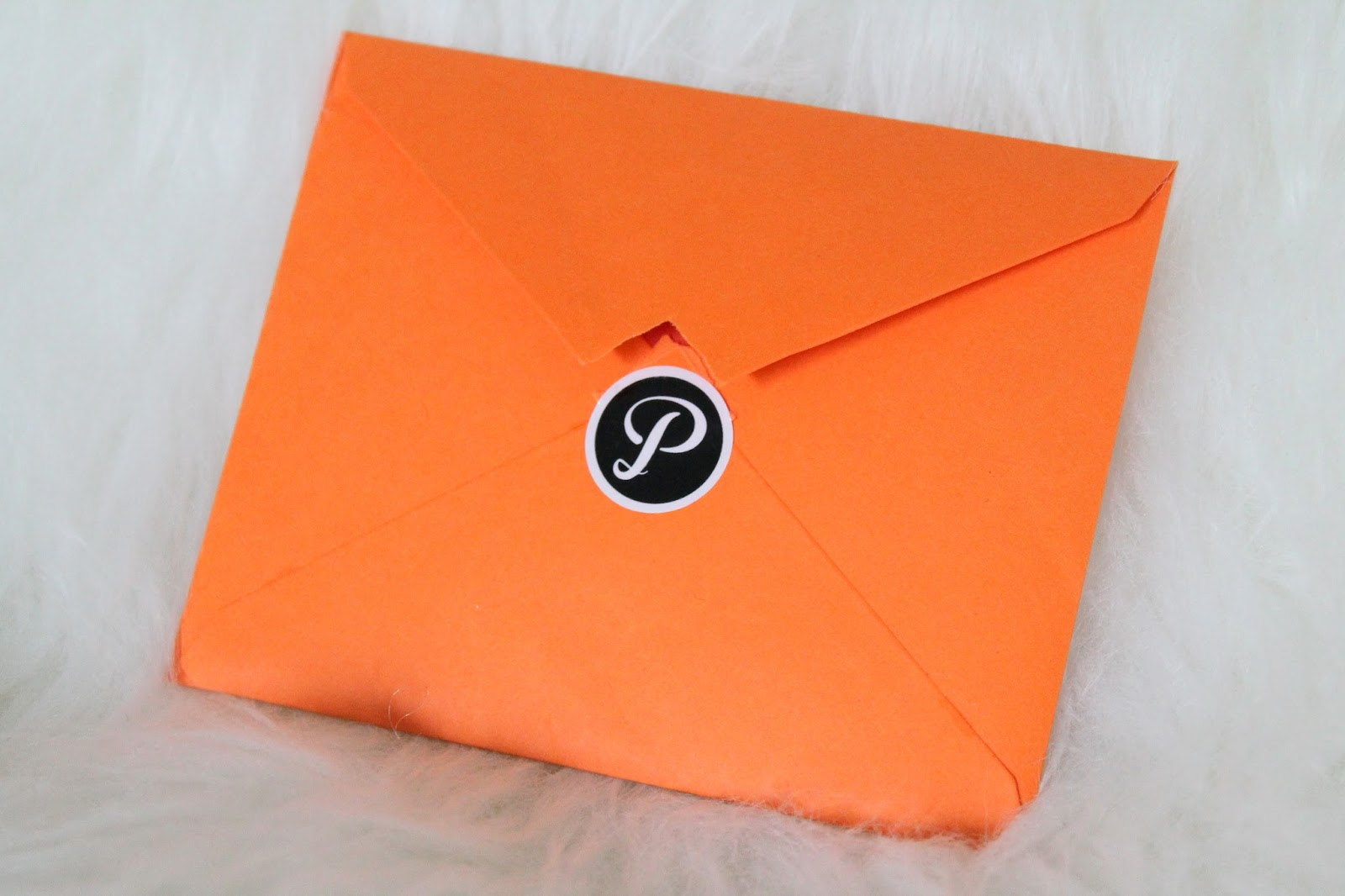printic orange envelope