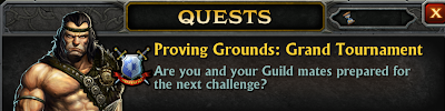 Proving Grounds: Grand Tournament