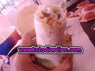 WASABI RICE WRAP KFC