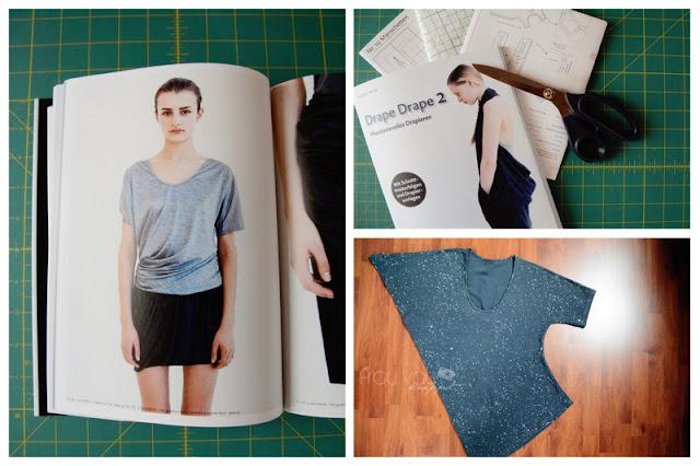 Japanische Nähbücher: Drape Drape 2, Mod. 4 am MeMadeMittwoch @frauvau.blogspot.de