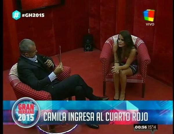 Camila Cuarto Rojo GH2015