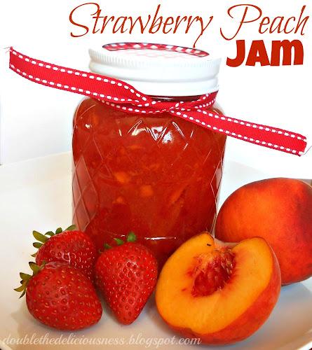 Double the Deliciousness: Strawberry Peach Jam