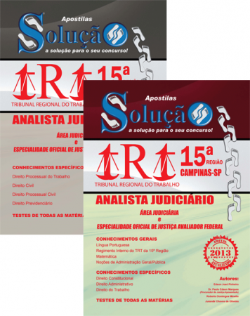 TRT15 divulga comunicado do edital para Técnicos e Analistas Judiciários