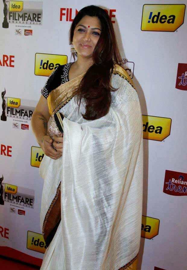 Khushboo at 61st Idea Filmfare Awards 2013 (South)