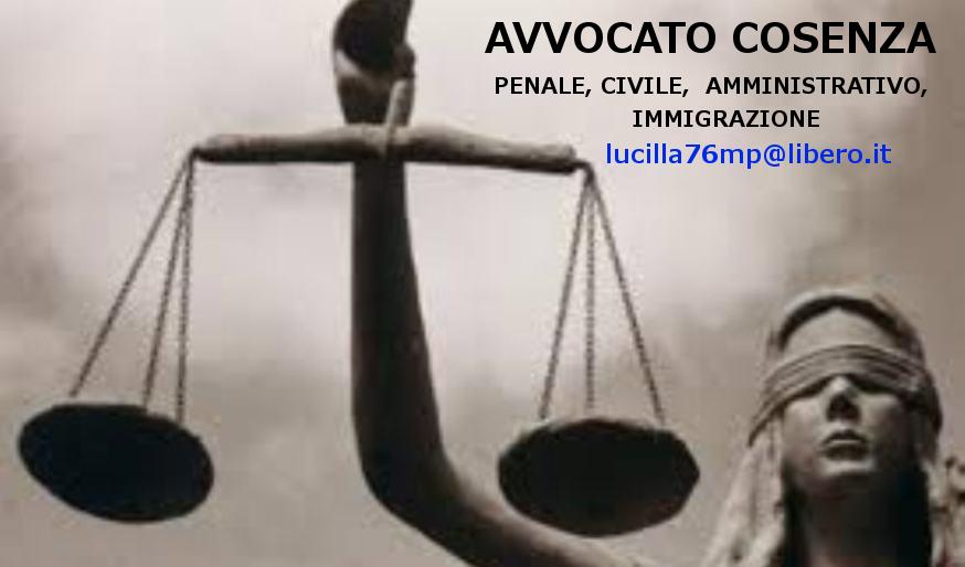 Avvocato Cosenza