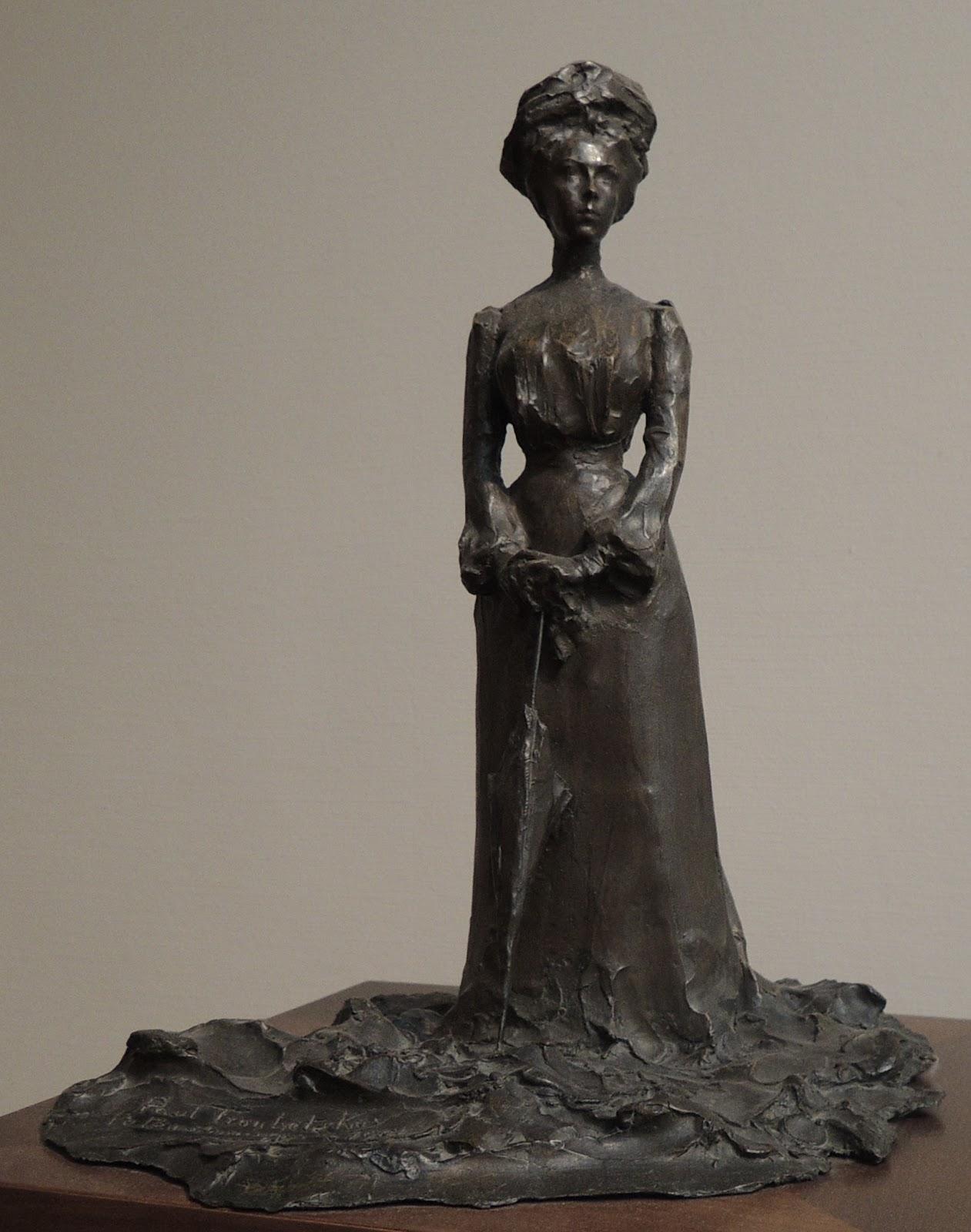 Paolo Troubetzkoy Maria Sergeevna  otkina  Tretyakov gallery