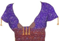 photos of neck design of blouse