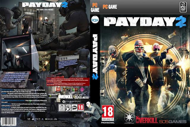 تحميل لعبة PayDay 2 برابط واحد مباشر