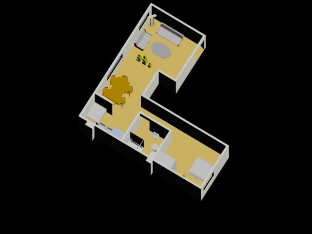Dibujos autocad 2012 for Diseno apartaestudio