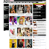 Celebrity Photo Portal Blog Template for Blogger