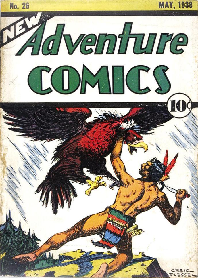 Days of Adventure: New Adventure Comics # 26, May, 1938