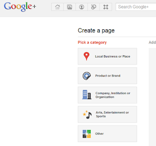 create google business page