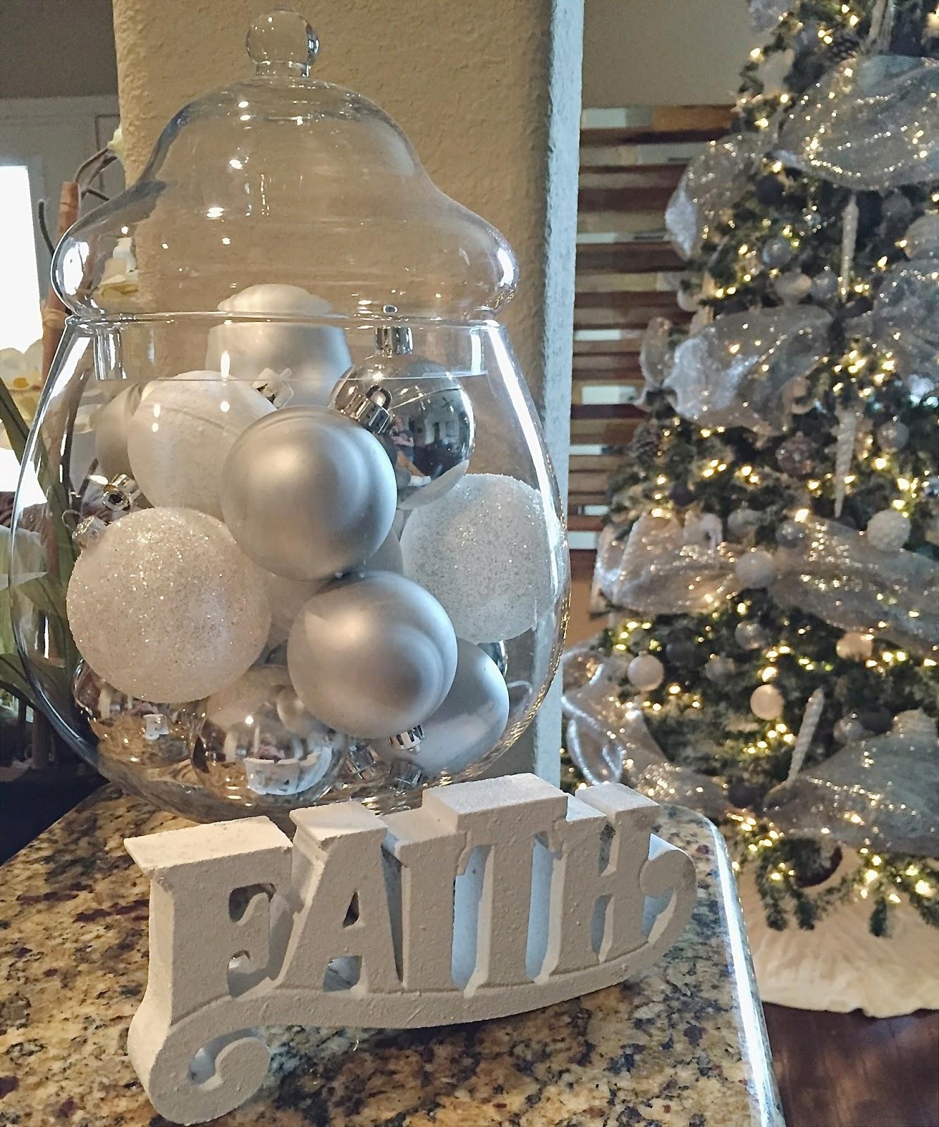 Apothecary Jar Christmas Decor
