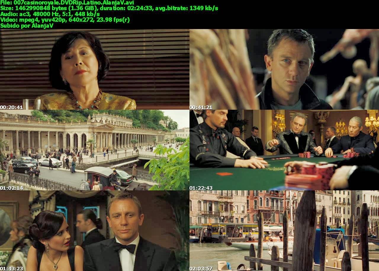 Ver online 007 casino royale audio latino