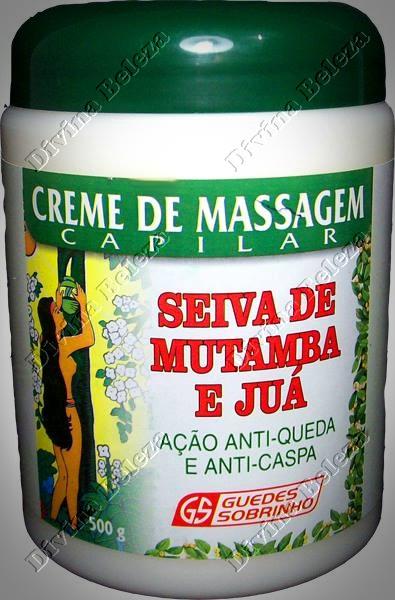 Creme de Massagem Capilar Seiva de Mutamba e Juá