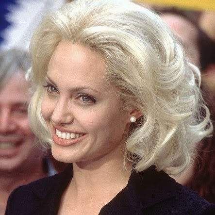 Angelina Jolie Bob Hair Angelina Jolie sports a