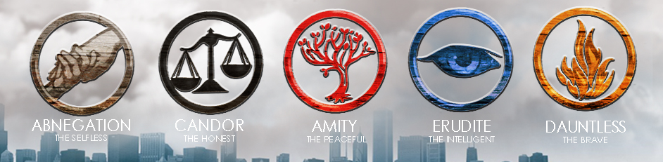 Divergent Factions Wallpaper There are 5 factions: erudite