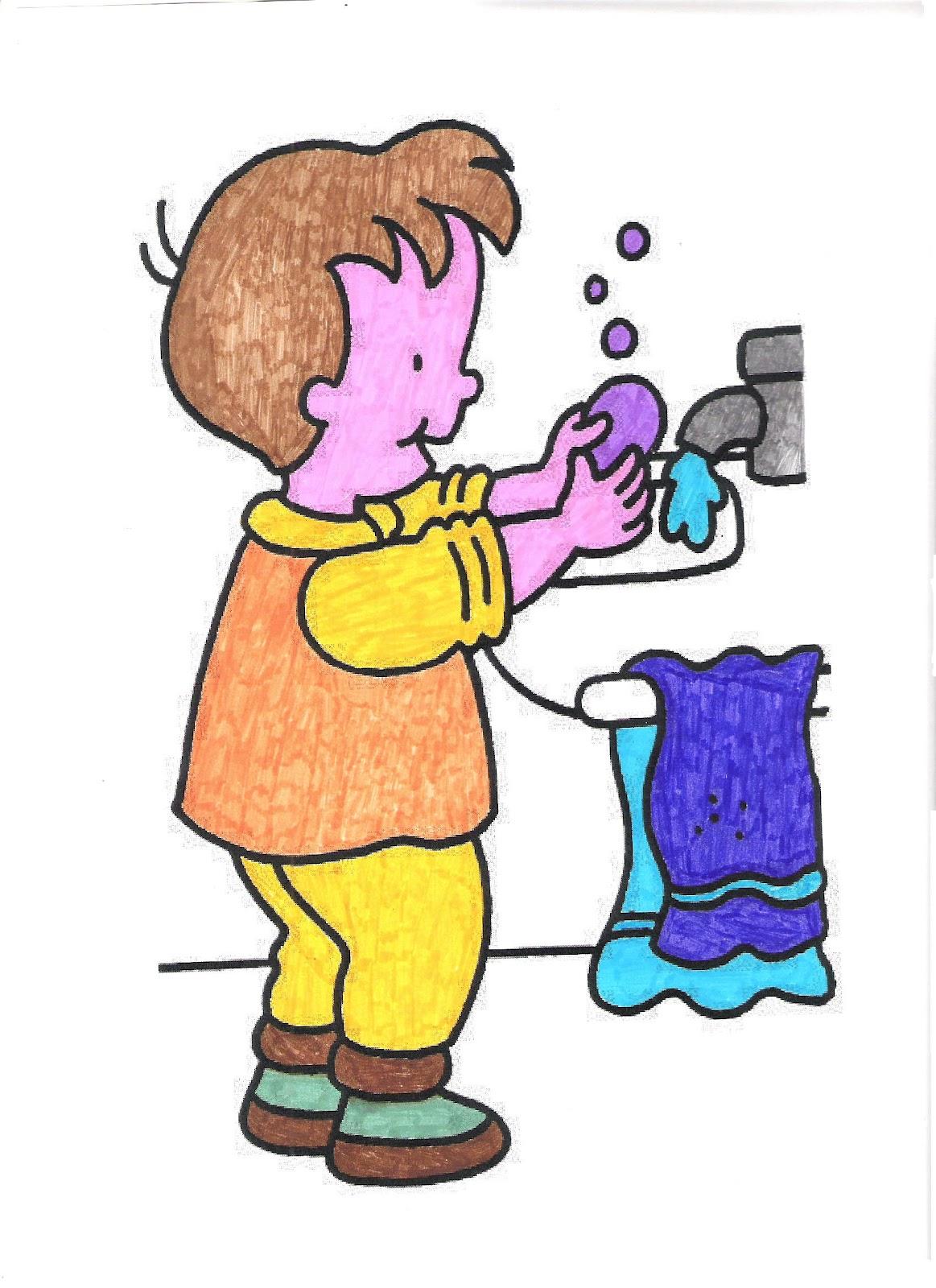 Imagenes De Ir Al Baño Para Ninos:Las Palomitas: Práctica 3: Higiene ...