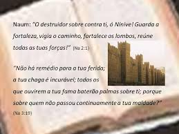 GUARDA TU A FORTALEZA - Naum 2:1