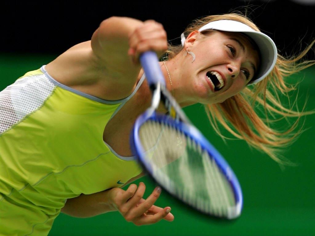 Sports Champions Maria Sharapova