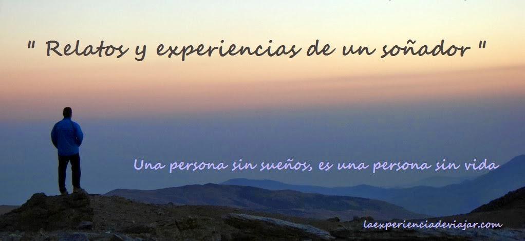 la experiencia de viajar