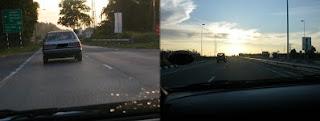 The journey to Kuala belait