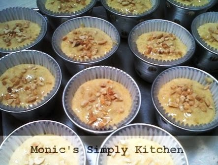 adonan resep kue muffin pisang buttermilk