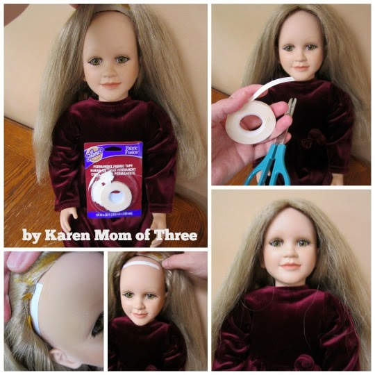 Karen Mom Of Three S Craft Blog My 5 My Twin Doll Rescue