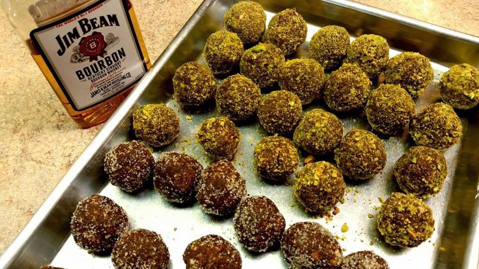 Bald Knob Farm: Bald Knob Bourbon Balls