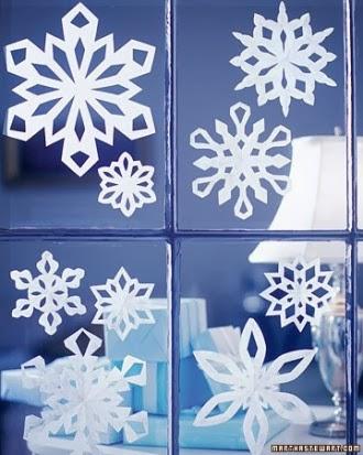 Aprenda a fazer flocos de neve para enfeitar o natal