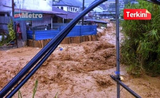 Cameron Highlands Terima Gelombang Kedua Banjir Kilat