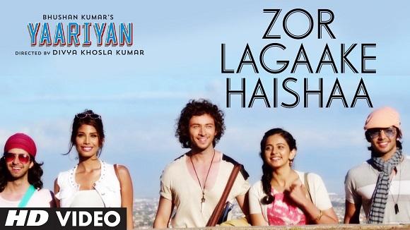 Zor Lagakke Haishaa -  Yaariyan (2014) Watch Online