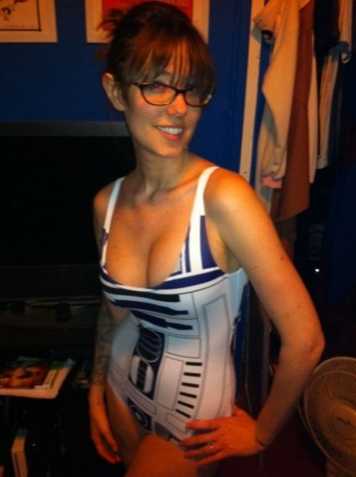 hot star wars nude girl