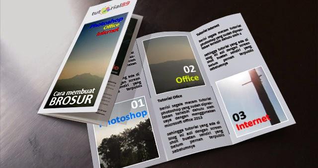 Cara cepat membuat brosur dengan publisher