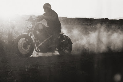 Black and White Photography - Bobber, Motorcycle, Chopper