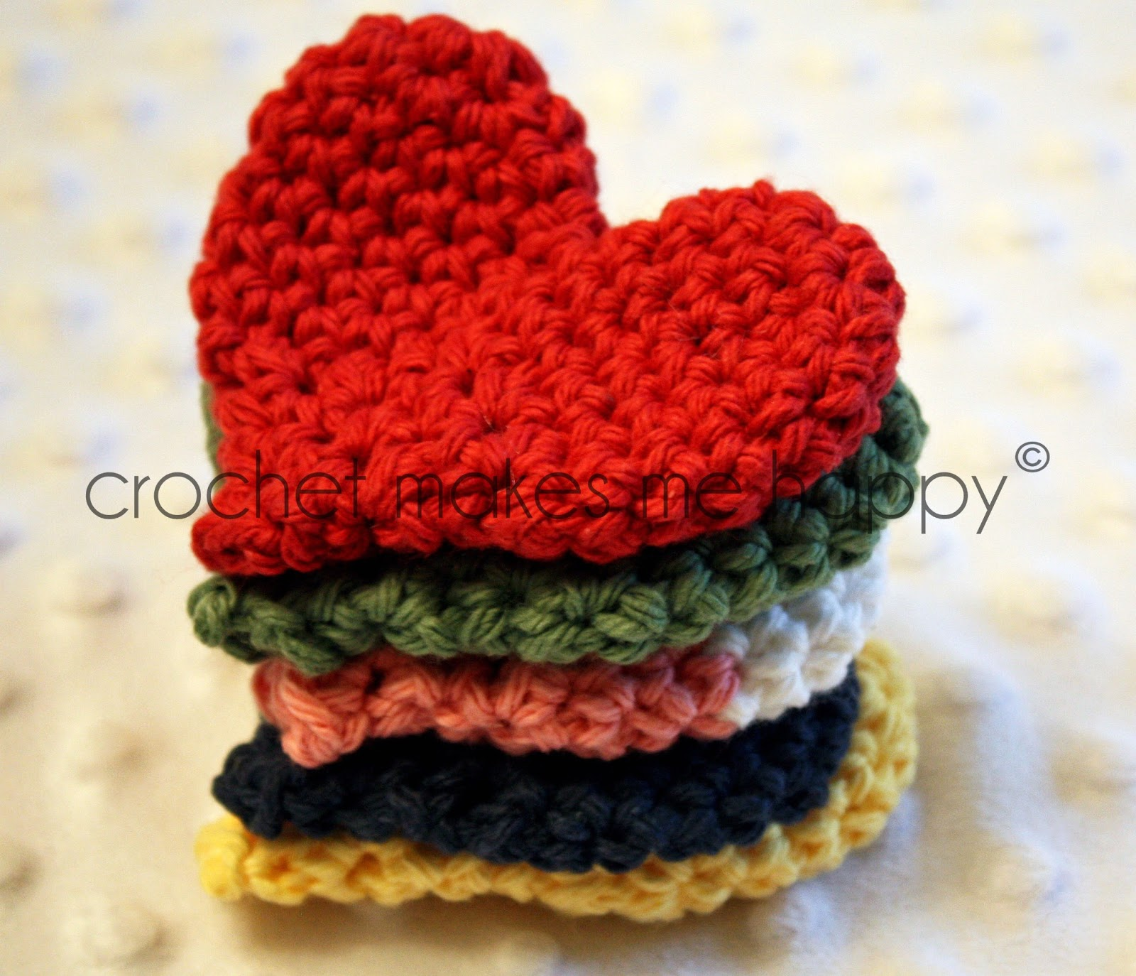 Crochet Patterns Hearts : Crochet Makes Me Happy!: Crochet Pattern: The Heart