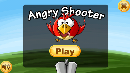 Angry Shooter shoot the bird