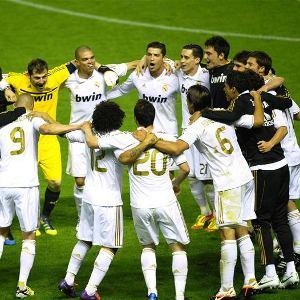 Real Madrid campeón de liga 11-12!!!!