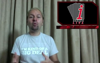 Daniel Negreanu promoting the iSeries event on his latest video blog