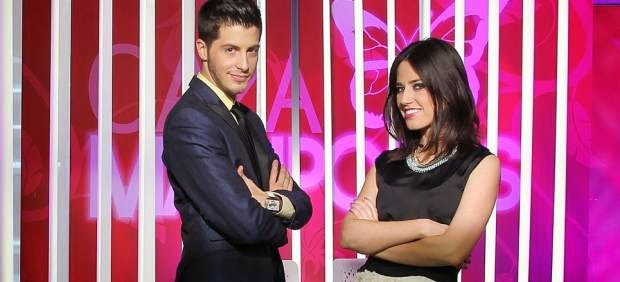 Nando Escribano y Nuria Marín conducen 'Cazamariposas', presentadores