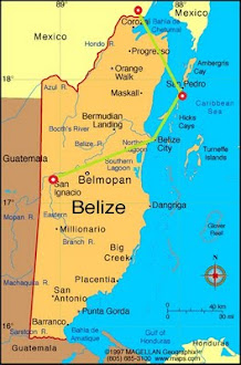Belize Route Map