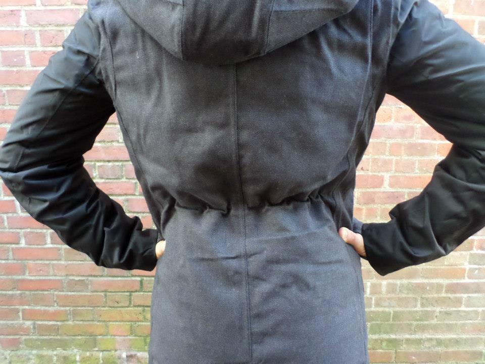 lululemon black blizzard parka